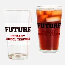 Future Primary School Teacher Drinking Glass