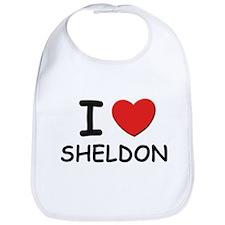 I love Sheldon Bib