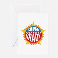 Super Grady Greeting Card