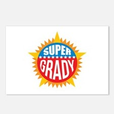 Super Grady Postcards (Package of 8)