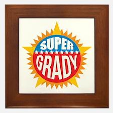 Super Grady Framed Tile