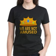 We Are Not Amused Tee