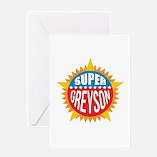 Super Greyson Greeting Card