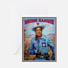 DRONE RANGER Greeting Card