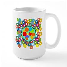 RT ABSTRACT PILLOW Mug