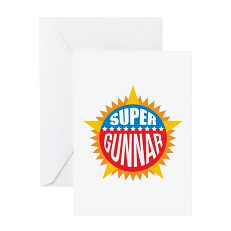 Super Gunnar Greeting Card