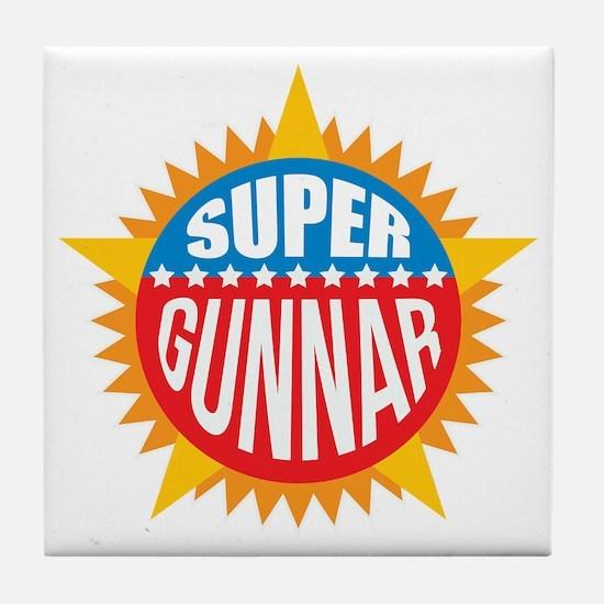 Super Gunnar Tile Coaster
