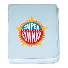Super Gunnar baby blanket