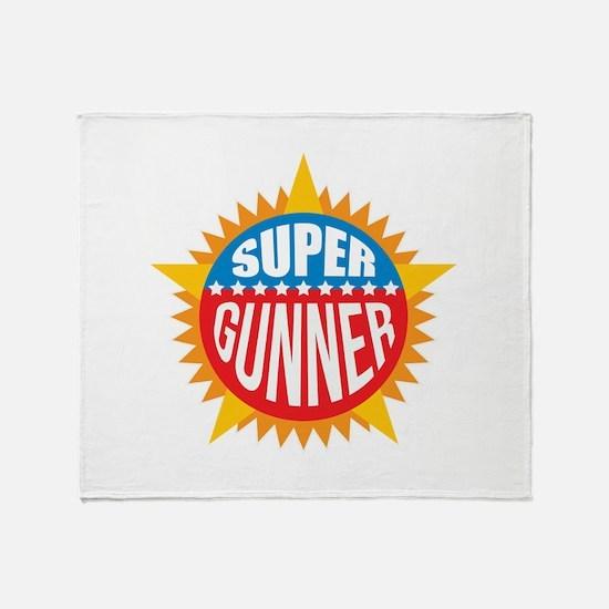 Super Gunner Throw Blanket