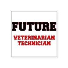 Future Veterinarian Technician Sticker