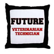 Future Veterinarian Technician Throw Pillow