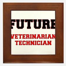 Future Veterinarian Technician Framed Tile