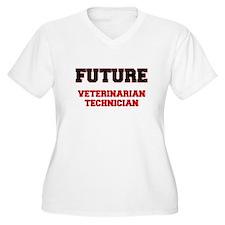 Future Veterinarian Technician Plus Size T-Shirt