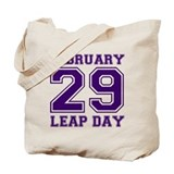 Leap day Canvas Bags