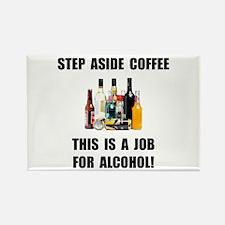 Alcohol Job Rectangle Magnet (10 pack)