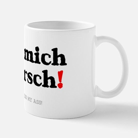 GERMAN - KISS MY ASS! Z Small Mug