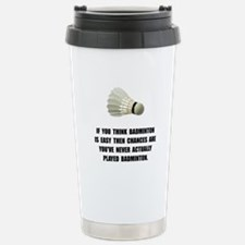 Badminton Easy Travel Mug
