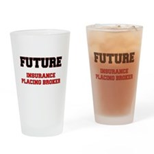 Future Insurance Placing Broker Drinking Glass