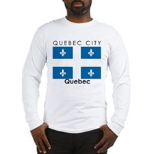 Quebec City Quebec Long Sleeve T-Shirt