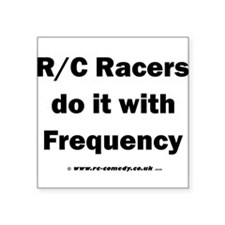 """Do it with Frequency Square Sticker 3"""" x 3"""""""