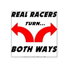 """Real Racers Square Sticker 3"""" x 3"""""""