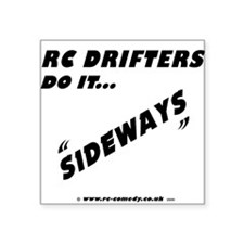 """RC Drifters Square Sticker 3"""" x 3"""""""
