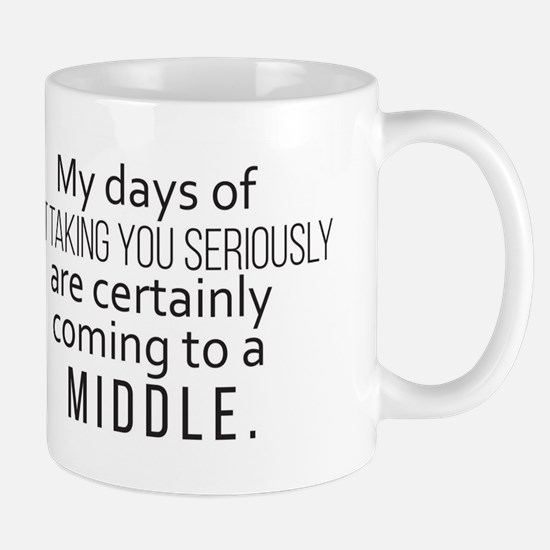 It's coming to a middle Mugs