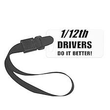 1/12th driver Luggage Tag