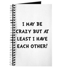 Crazy Each Other Black Journal