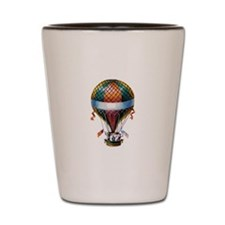 Hot Air Balloon Shot Glass