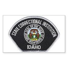 Idaho Prison Rectangle Decal