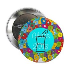 """pharmacist grad abstract 2.25"""" Button"""