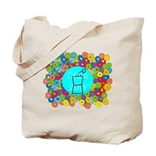 pharmacist grad abstract Tote Bag