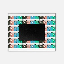 Vintage Floppy Discs Picture Frame