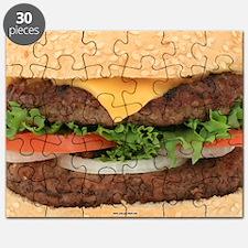 Funny Hamburger Puzzle