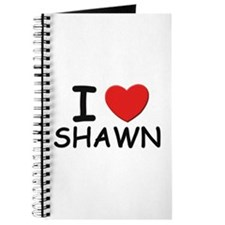I love Shawn Journal