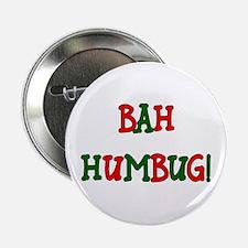 Bah Humbug! Button