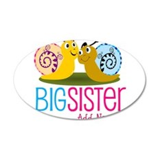 Add Name Big Sister Wall Sticker