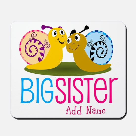 Add Name Big Sister Mousepad