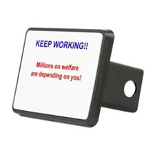 Keep Working! Hitch Cover