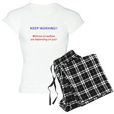 Keep Working! Pajamas