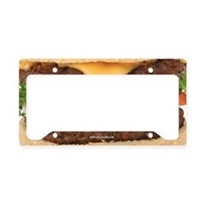 Hamburger License Plate Holder