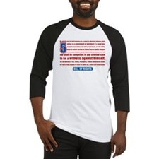 5th Amendment Baseball Jersey