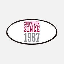 Survivor Since 1987 Patches