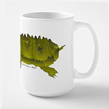 Matamata Turtle Amazon River Large Mug