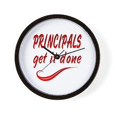Principals Wall Clock