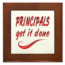 Principals Framed Tile