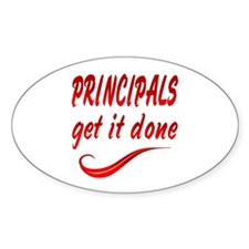 Principals Decal