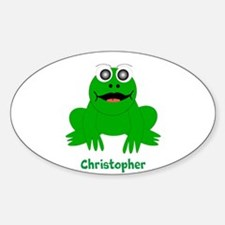 Frog Just Add Name Decal