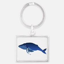 Humpback Whale (solo) Keychains